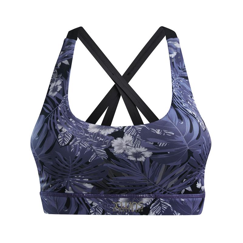 【景甜同款】特步 专柜款 女子胸衣 19夏新款印花跑步健身内衣981228590051