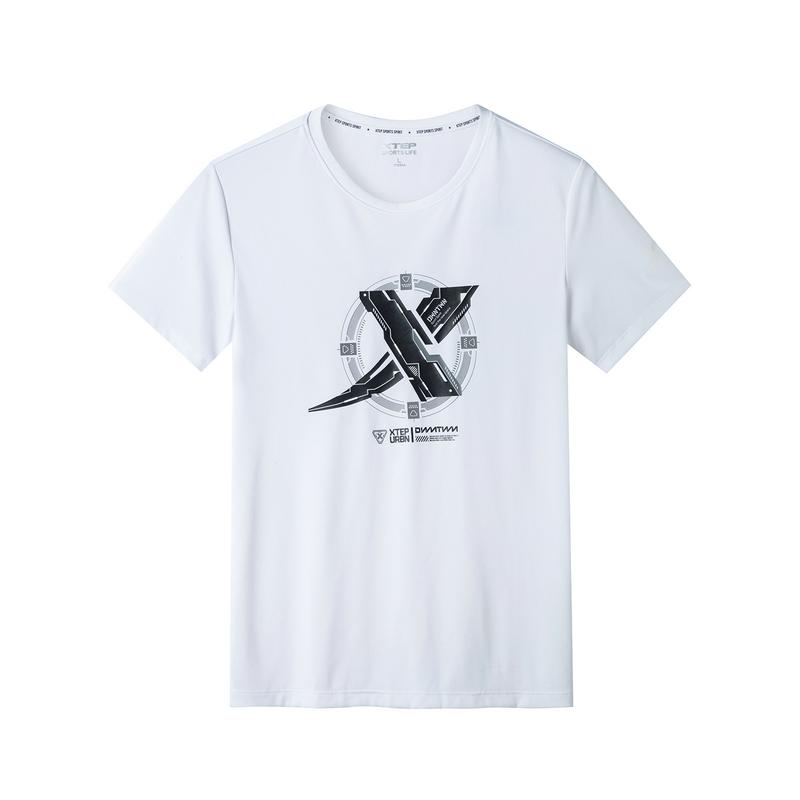 【这就是街舞】特步 专柜款 男子短袖2019夏季新款圆领短装运动981229012626
