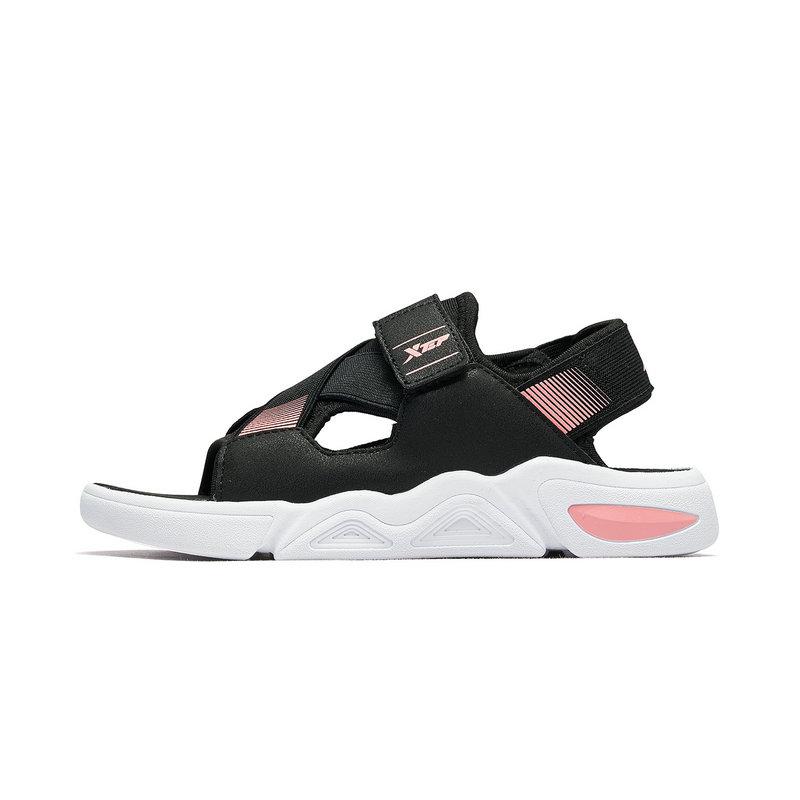 特步 女童沙滩鞋 2019夏季童鞋沙滩鞋女童小学生凉鞋681214509239