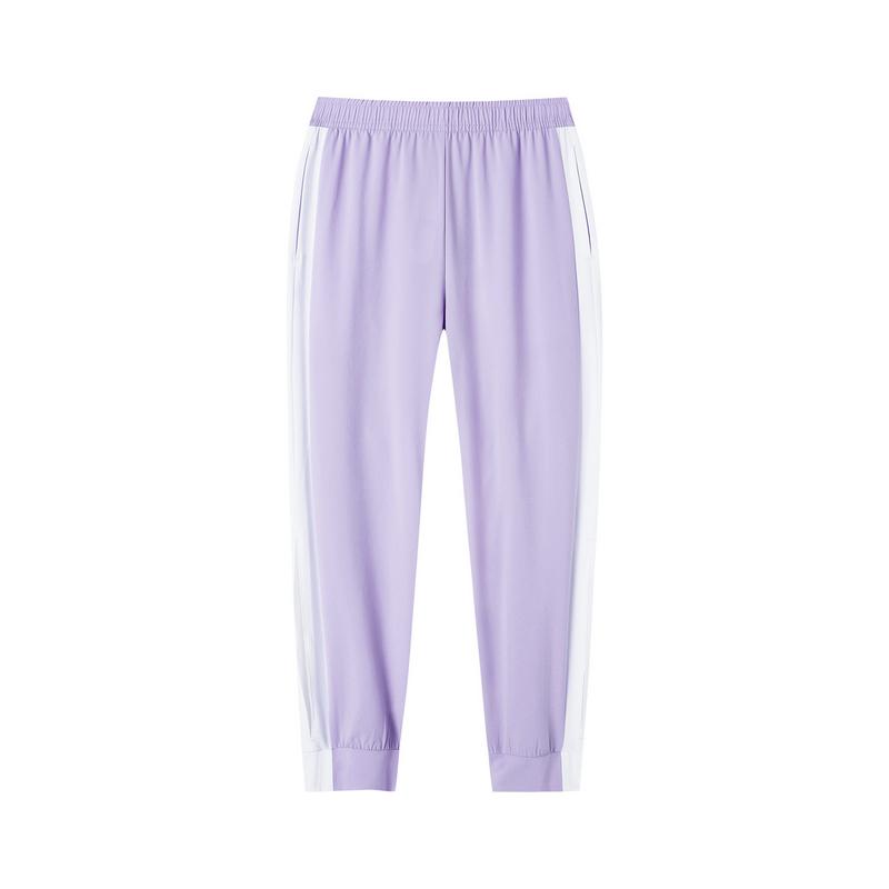 【景甜同款】特步 女子梭织九分裤 时尚潮流活力运动裤881228A39003