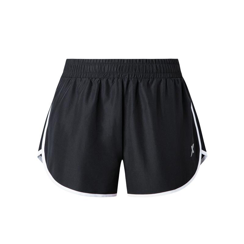 特步 女子梭织短裤 19夏新款跑步健身运动裤881228679335