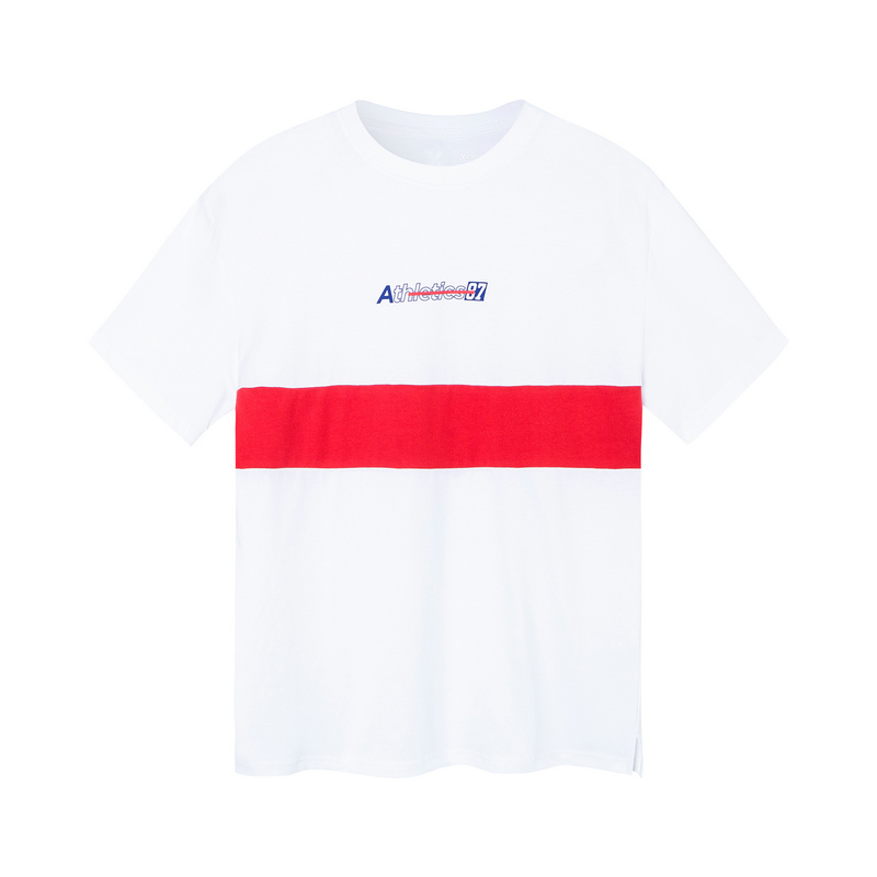 特步 女子短T恤 19夏新款时尚图案活力短袖881228019275