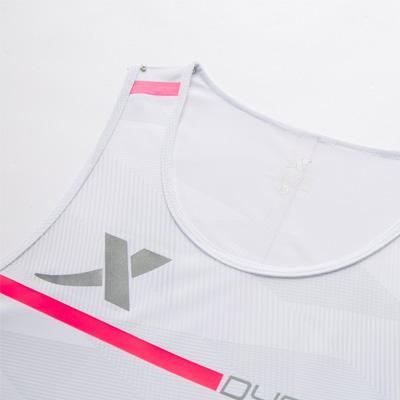 特步 专柜款 女子背心 新品马拉松跑步服透气轻薄专业运动服无袖T恤981128090100
