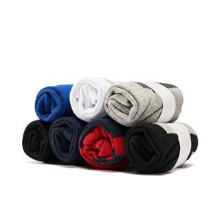 特步 男子平板短袜七双装 19夏新款舒适透气运动短袜881339549060