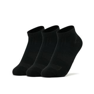 特步 女短袜 透气舒适运动袜三双装881338549023