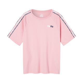 【景甜同款】特步 女子短袖针织衫 时尚休闲百搭短袖881228019343