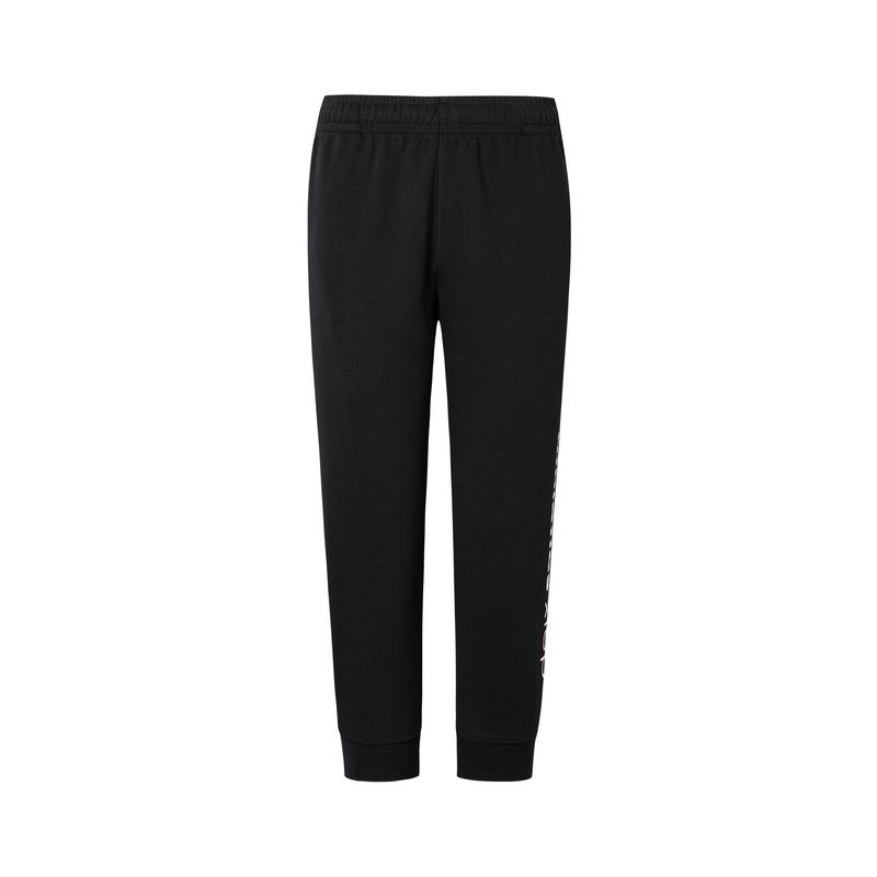 特步 女子针织七分裤 19新款简约透气运动裤881228629317
