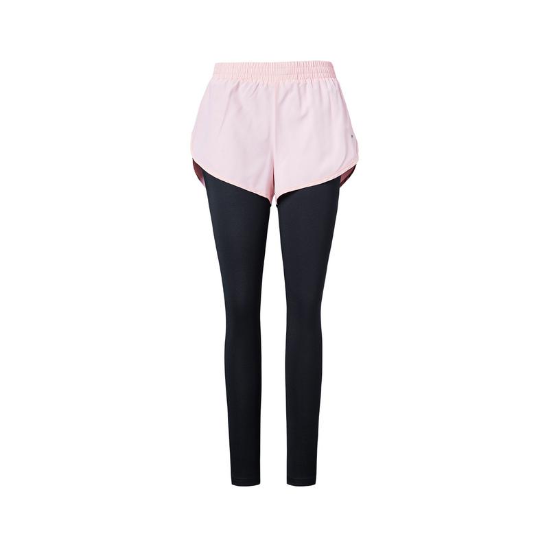 特步 女子专业紧身裤  运动舒适健身裤子882328899101