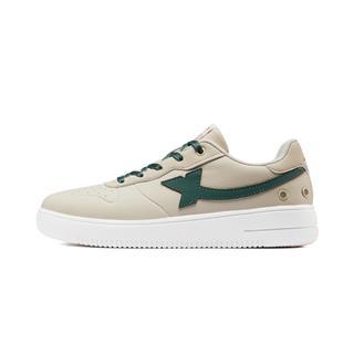 特步 女子板鞋 休闲鞋运动小白鞋滑板鞋子881318319210