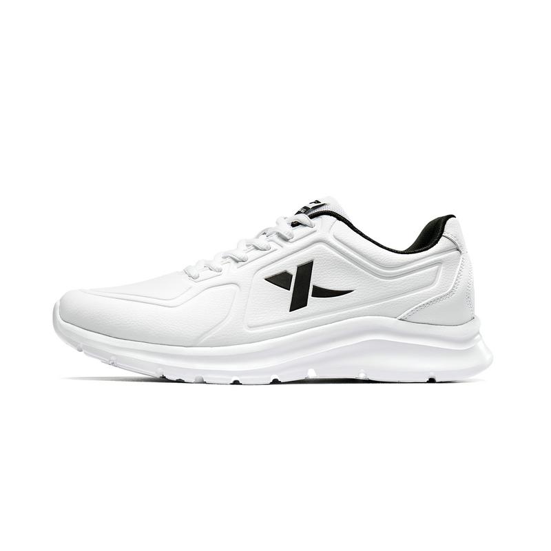 特步 男子跑鞋 2019夏季新款白跑鞋透气运动鞋子881319119078