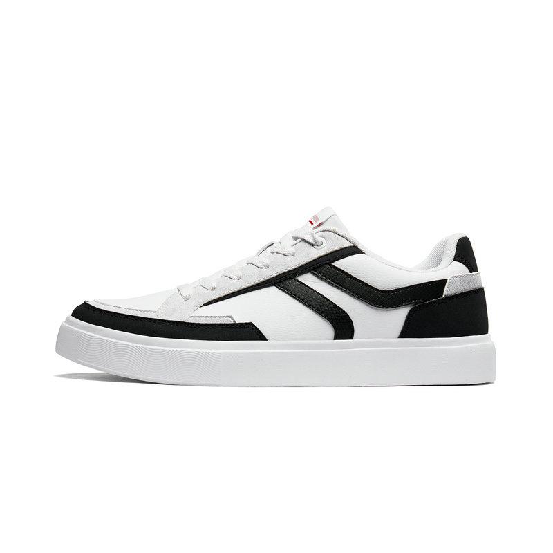 特步 男子板鞋 2019秋季新款滑板鞋男鞋π运动鞋休闲鞋881319319113