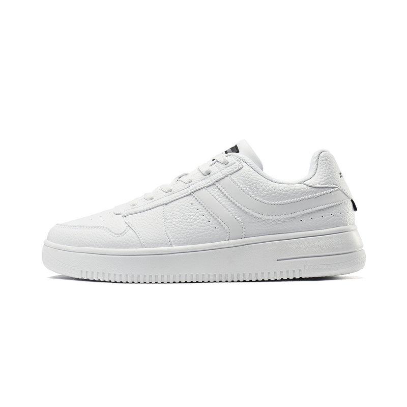 特步 男子板鞋 2019新品经典小白鞋运动鞋男休闲鞋子881319319122