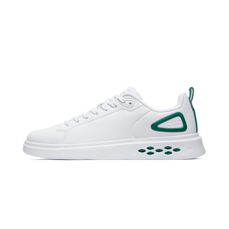 特步 专柜款 男子板鞋 19新款革面时尚百搭鞋981319316287