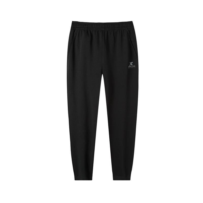 特步 男子运动针织长裤 秋季新款舒适百搭透气运动裤881329639236