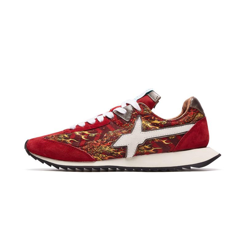 【XX系列】特步 专柜款 男子休闲鞋 19新款W6YZ联名风火设计潮牌鞋981319320257