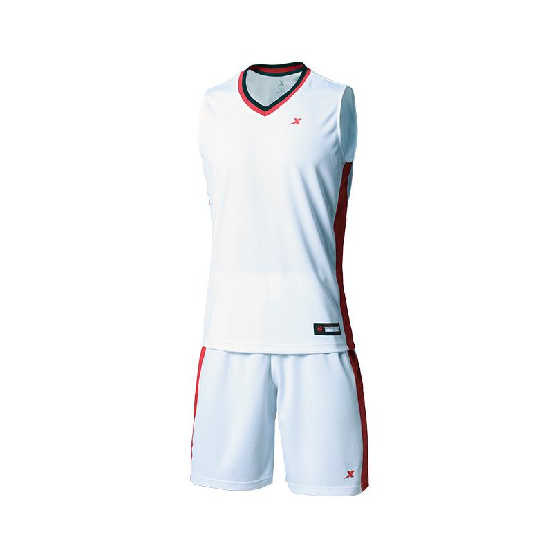 特步【团购定制款】男子篮球比赛运动套装981129688601