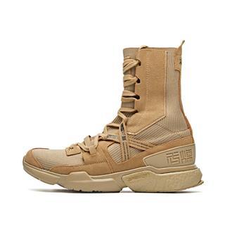【阿里系列-拳击鞋】特步 专柜款 男子综训鞋 高帮运动长筒袜套鞋981219520859