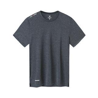 特步 专柜款 男子短袖针织衫 综训运动透气T恤981229012633