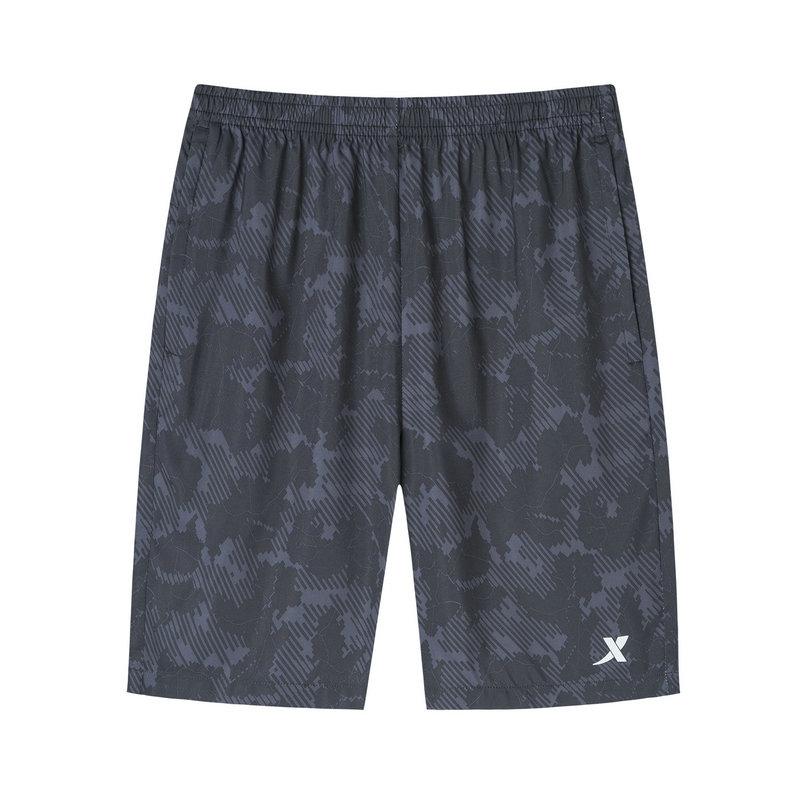 特步 专柜款 男子梭织运动短裤 19新款时尚花纹短裤981229240159