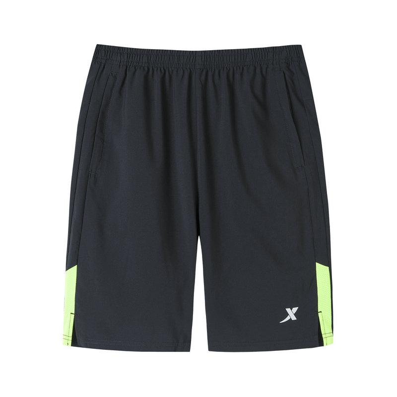 特步 专柜款 男子梭织运动短裤 19新款简约跑步短裤981229240166