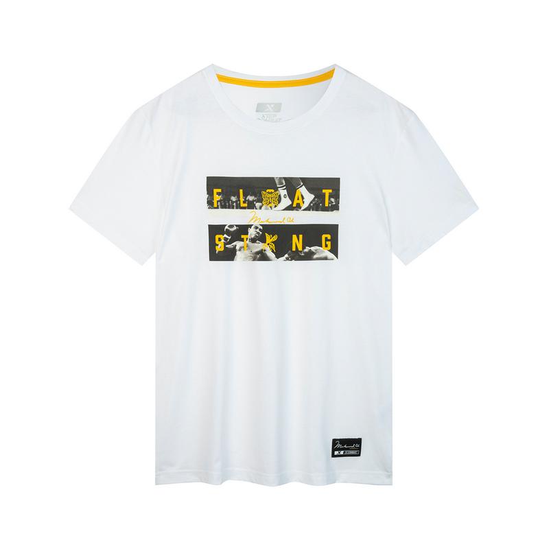 特步 专柜款 男子秋季综训短袖 舒适透气时尚百搭运动T恤981329010100