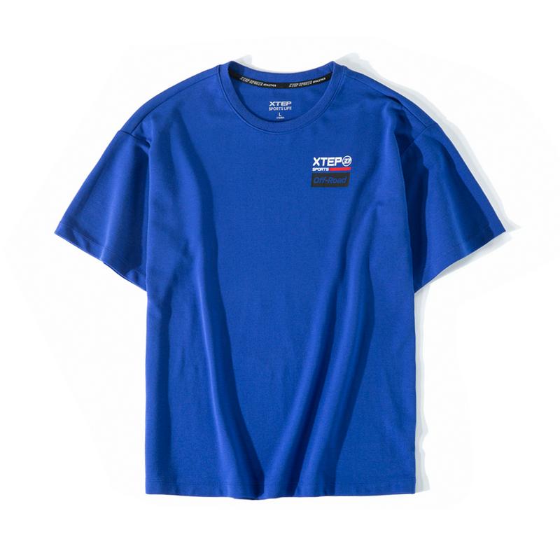 【明日之子同款】特步 专柜款 男子短袖 新款都市活力潮流时尚T恤981329010118