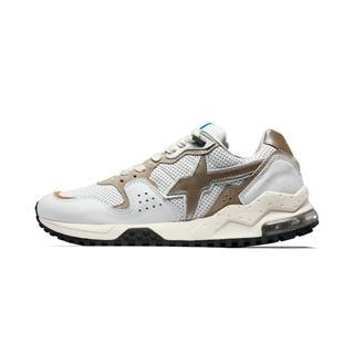 【XX系列】特步 专柜款 男子休闲鞋 特步&W6YZ联名设计透气复古运动鞋981319320282