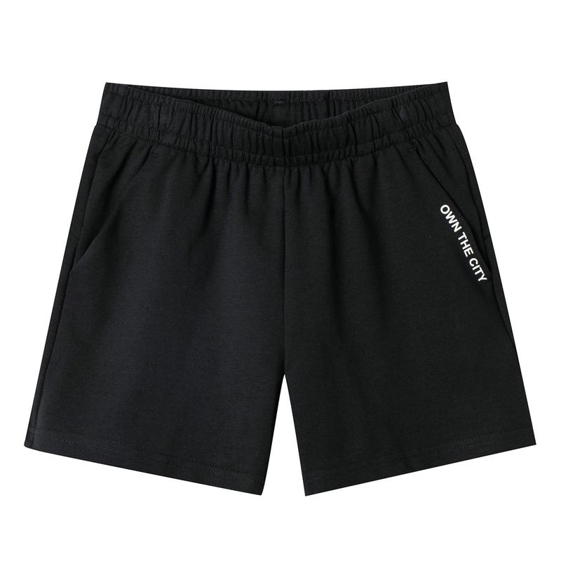 特步 专柜款 女子针织短裤 19新款街头活力休闲短裤981228600113