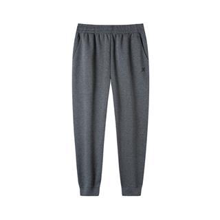 特步 男子秋季运动长裤 简约百搭舒适针织长裤881329639272