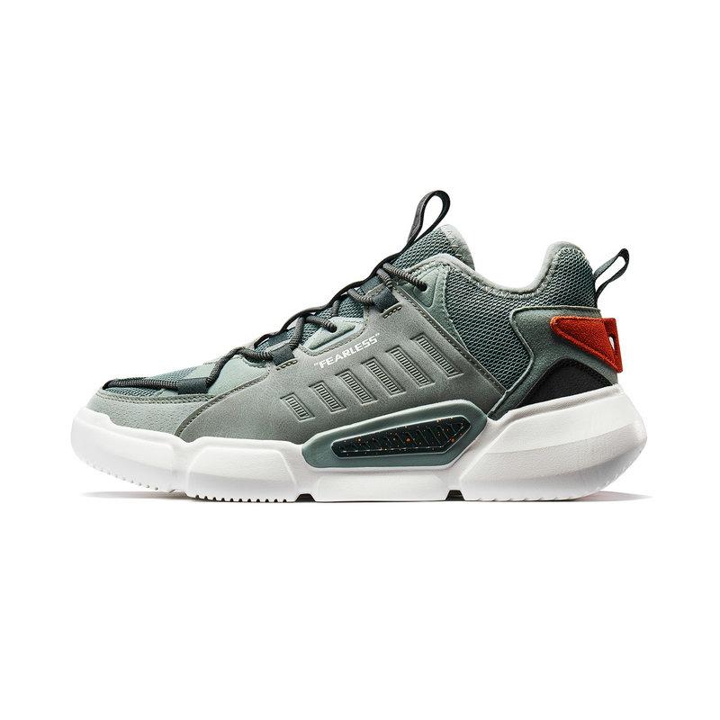 特步 专柜款 男子篮球鞋 2019新款加厚打底减震耐磨运动鞋981319121231