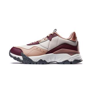 【明日之子同款火山鞋】特步 专柜款 女子休闲鞋 19新款运动透气都市老爹鞋981318393061