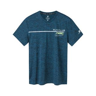 特步 专柜款 男子秋季短袖针织衫 运动健身舒适透气百搭短T981329010213