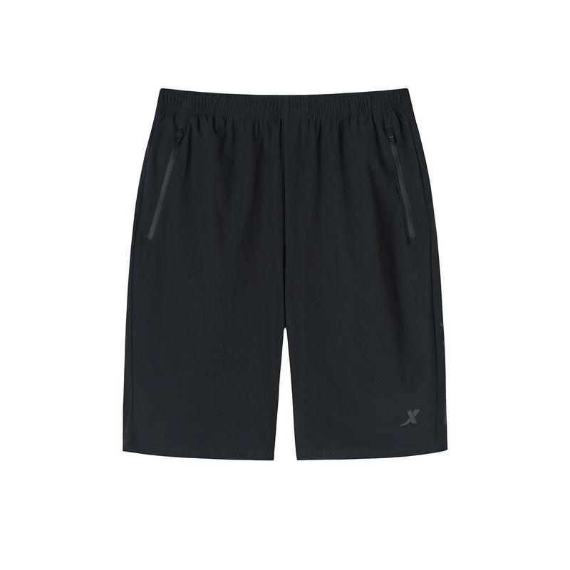 特步 专柜款 男子跑步运动短裤 新款透气百搭运动五分裤981329600335