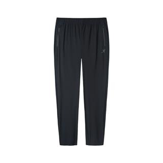 特步 专柜款 男子跑步运动针织长裤 新款简约口袋拉链长裤981329630315