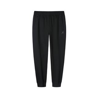 特步 专柜款 男子综训缩脚针织长裤 新款简约拉链口袋运动长裤981329630330