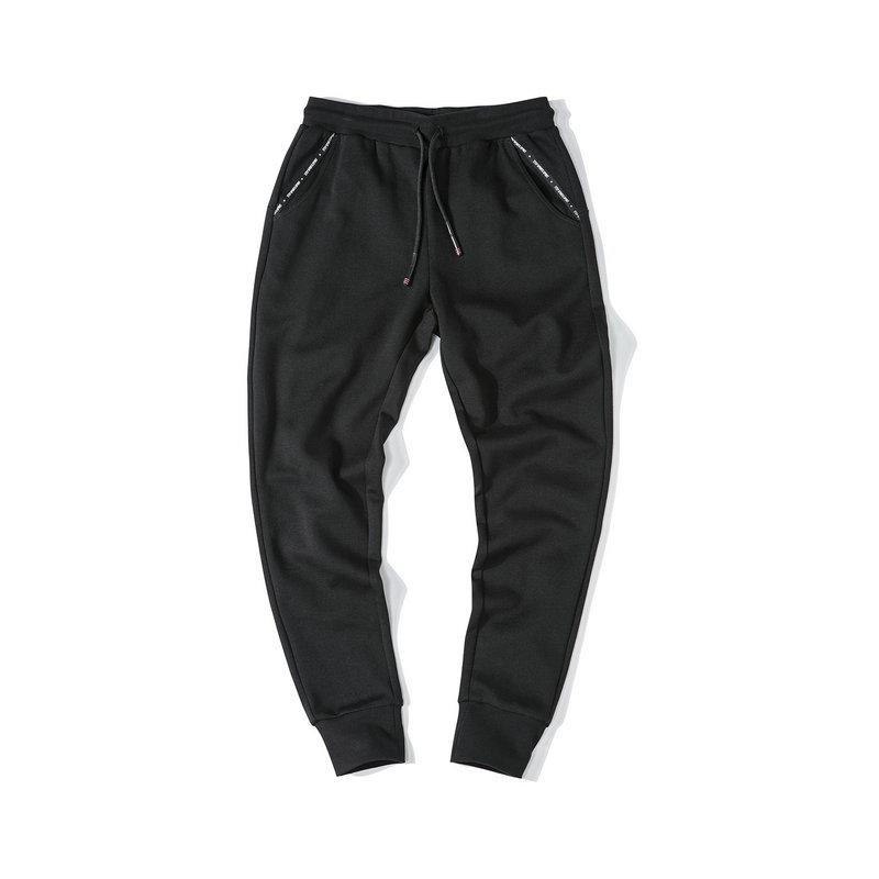 特步 女子长裤 2019秋季新款舒适透气收腿针织休闲裤881328639229