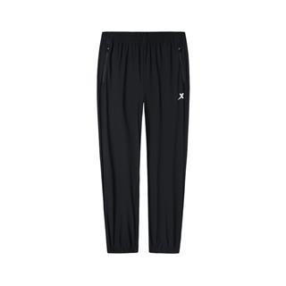 特步 专柜款 男子跑步针织九分裤 秋季新款舒适透气缩脚长裤981329840522