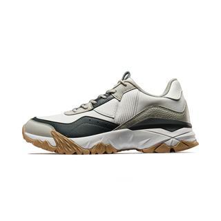 【明日之子同款火山鞋】特步 专柜款 男子都市休闲鞋 19新款舒适大底轻便潮流老爹鞋981319393061