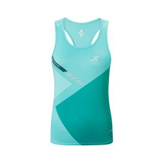 特步 专柜款 女子马拉松背心 运动休闲跑步透气背心981328090185