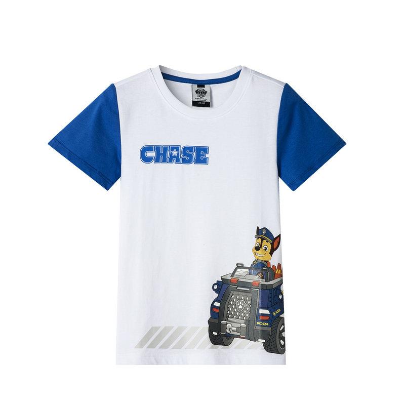 特步 专柜款 男童卡通针织衫 小童舒适透气可爱短袖T恤681225013158