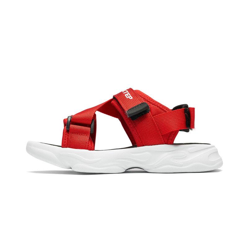 特步 专柜款 儿童男童舒适轻便休闲运动沙滩鞋681215505228
