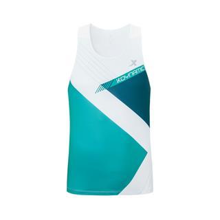 特步 专柜款 男子马拉松背心 运动休闲跑步背心上衣981329090207