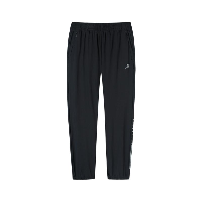 特步 专柜款 女子长裤2019夏季新款轻薄透气九分裤休闲长裤981328840521