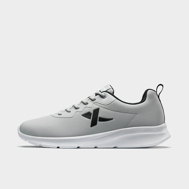 特步 男子跑鞋 19新款系带革面舒适运动鞋881419119635