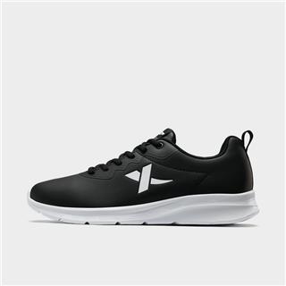 特步 男子跑鞋 系带革面舒适运动鞋881419119635