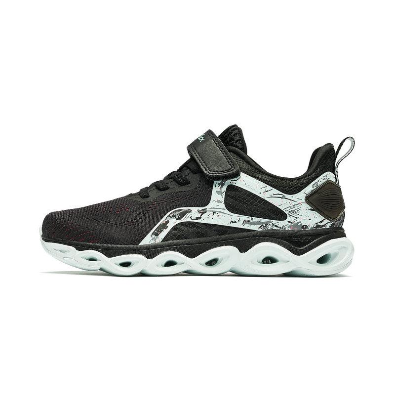 特步 专柜款  儿童运动鞋减震旋科技女童跑鞋中大童鞋子681214115587