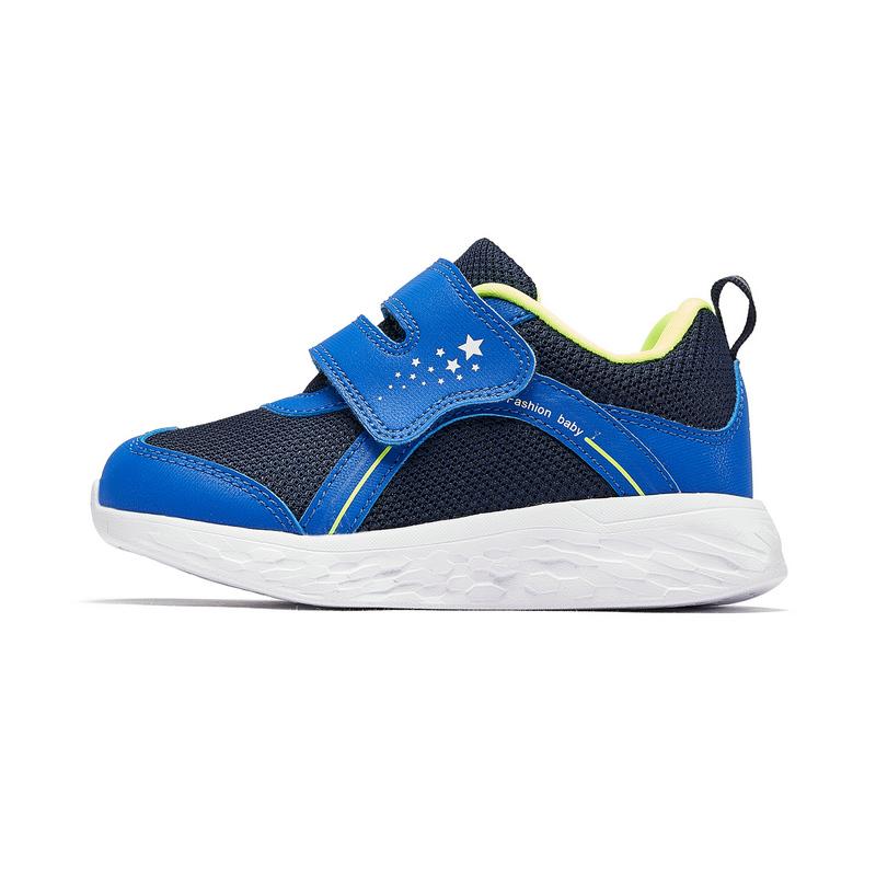 特步 专柜款 2019年秋季新款幼小童学步鞋儿童健康鞋舒适轻便运动鞋681316612053