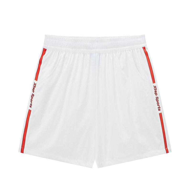 【明日之子同款】特步 专柜款 运动短裤女梭织轻薄透气女裤981228240155