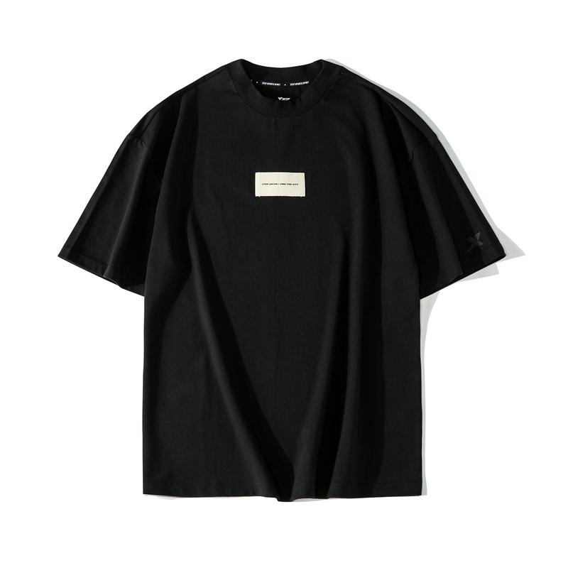 【这就是街舞】特步 男子短袖 2019夏季T恤男士透气潮881229019314