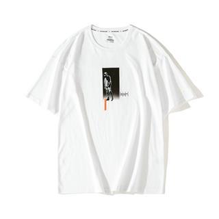 【这就是街舞】特步 短袖T恤男女同款新品休闲情侣潮上衣881229019310